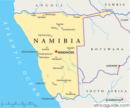 namibia_political_map
