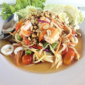 Papaya Salad in Mae Nam