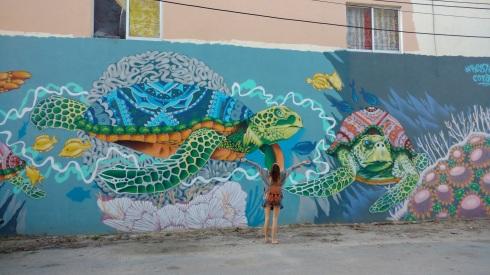 Street art - Tulum