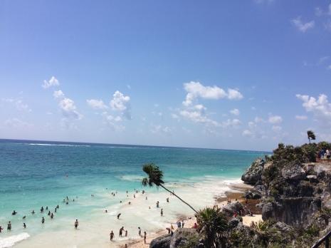 View from Maya Ruins