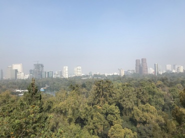 View from Chapultepec