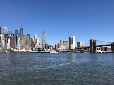View over Manhattan from Brooklyn